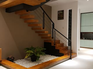 Rumah Janur asri VI kelapa gading Oleh qic arsitek Minimalis