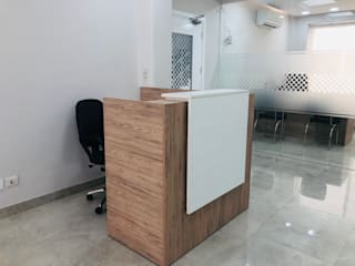 Office space at Okhla, Delhi by INTROSPECS Minimalist