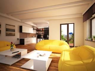 Визуализация интерьера квартиры: Коммерческие помещения в . Автор – Ландшафты Сибири