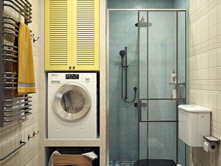 Salle de bain scandinave par IvE-Interior Scandinave