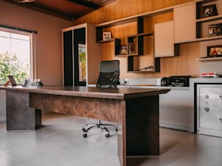 Edifícios comerciais modernos por CAZA & AP Moderno