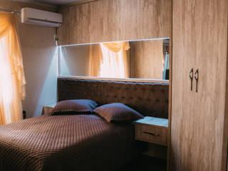 Dormitório Quartos modernos por CAZA & AP Moderno