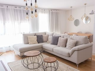 KELE voy a hacer Scandinavian style living room