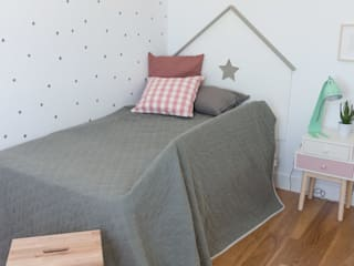Scandinavian style nursery/kids room by KELE voy a hacer Scandinavian