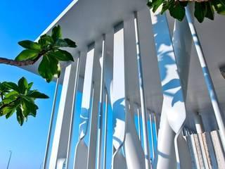 大桓設計顧問有限公司 Garden Fencing & walls White