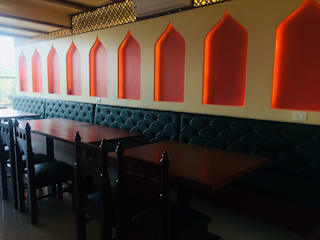 Themed Restaurant Project:  Commercial Spaces by Espee Designs