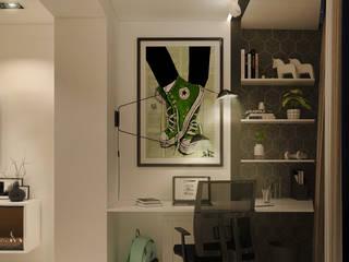 Квартира в современном стиле: Гостиная в . Автор – Новые Традиции,
