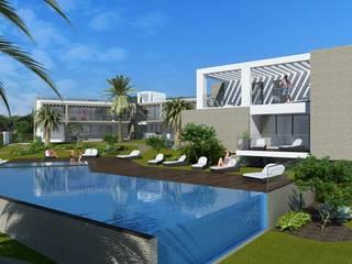 Moderne huizen van iHome Lda Modern