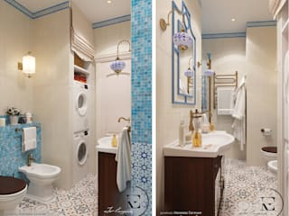Mediterranean style bathrooms by IvE-Interior Mediterranean