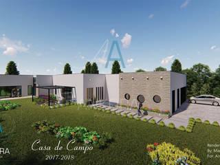 CASA CANO: Casas de estilo  por ANKORA ARQUITECTOS