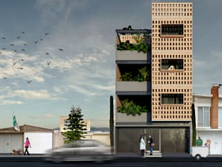 Casas de estilo  de idA Arquitectos, Moderno