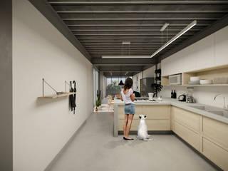 Cocinas de estilo  de idA Arquitectos, Moderno