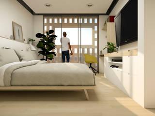Dormitorios de estilo  de idA Arquitectos, Moderno
