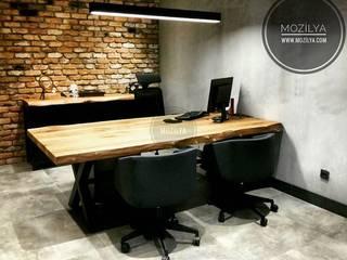 Doğal Ahşap Ofis Mobilyaları Mozilya Mobilya