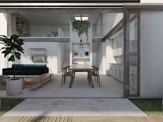 Comedores de estilo  de idA Arquitectos, Moderno