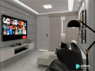 غرفة المعيشة تنفيذ Pinus Arquitetura