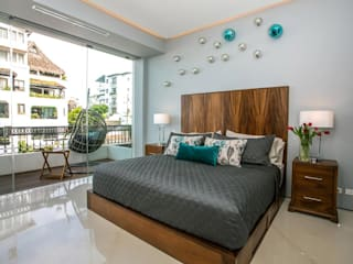 Phòng ngủ phong cách tối giản bởi Galeria Sofia Tối giản