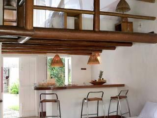 Pousada Cordeiro de Naná Quartos rústicos por Guetta & Niquet Arquitetura Rústico