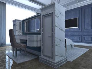 Интерьер пентхауса от компании RI-Arte. Спальня.: Спальни в . Автор – Ri-Arte