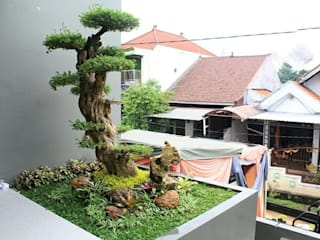 Jasa Pembuatan Taman Ruang Komersial Minimalis Oleh Jasa Pembuatan Taman Minimalis