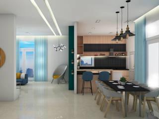 Mr. Chandrahasa :  Kitchen units by MK designs