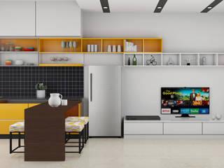 Mr. Aradhana:  Living room by MK designs