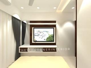 Residence in Kandivali East:  Bedroom by The 7th Corner - Interior Designer