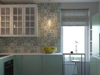 Кухня: Маленькие кухни в . Автор – L.E.DESIGNINTERIOR