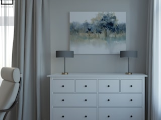 Спальня: Маленькие спальни в . Автор – L.E.DESIGNINTERIOR