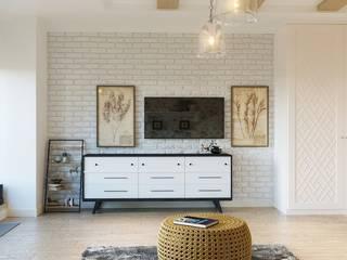 Функциональный и уютный интерьер: Гардеробные в . Автор – Архитектурно-дизайнерское бюро «SVETLOVO»