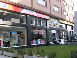İstikbal Mağazası Aktif Mimarlık Endüstriyel