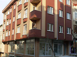 Baysel İnşaat Apartman Projesi Endüstriyel Evler Aktif Mimarlık Endüstriyel