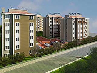 Casas de estilo industrial de Aktif Mimarlık Industrial