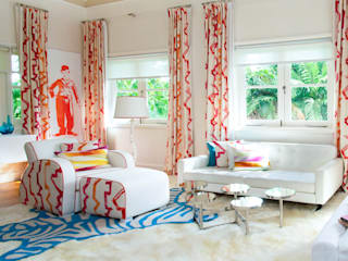 Colourful Bedroom Design by Design Intervention Design Intervention 臥室 Multicolored