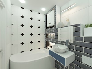 Bathroom by lux.Plus, Eclectic