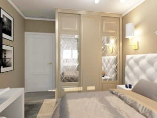 Small bedroom by lux.Plus, Classic