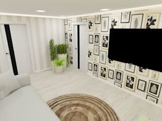 Living room by lux.Plus, Minimalist