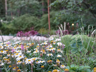 ARCADIA GARDEN Landscape Studio Rustic style garden