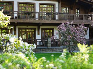 ARCADIA GARDEN Landscape Studio Jardines de estilo rústico