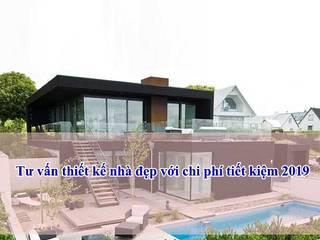 Tư vấn thiết kế nhà đẹp với chi phí tiết kiệm năm 2019 bởi Công ty cổ phần tư vấn kiến trúc xây dựng Nam Long Hiện đại