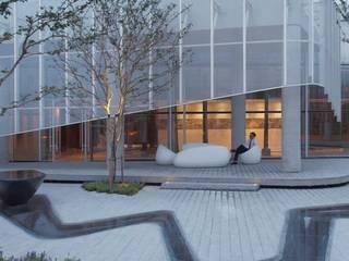 Entornos Corporativos de Bienestar Estudios y despachos de estilo moderno de Simbiotia Moderno