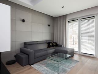 Salon moderne par ZIZI STUDIO Magdalena Latos Moderne