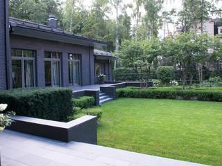 Jardines de estilo moderno de ARCADIA GARDEN Landscape Studio Moderno