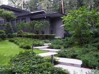 ARCADIA GARDEN Landscape Studio Jardines de estilo moderno