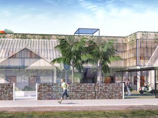 Rumah Kos Ibu Ayu Oleh Papan Architect