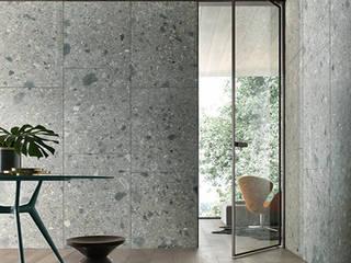 Moderne glazen taatsdeur Rimadesio Vela op maat:  Glazen deuren door Noctum, Modern