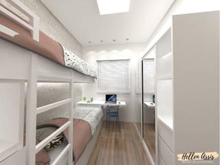 Quarto Jovem:   por Hellen Assis - Designer de Interiores