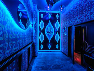 139 - Francisco Silván Arquitectura de Interior - Decoración Bares y clubs de estilo moderno de FrAncisco SilvÁn - Arquitectura de Interior Moderno