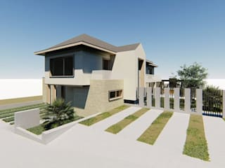 Casa CAM, Fundo el Venado, San Pedro de la Paz de Sociedad Comercial & Ingeniería ING Spa. Clásico