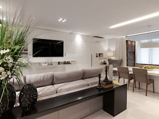 Living room by Simone Martini Arquitetura